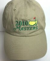 The Masters Golf Hat American Needle Cap 2010  Strap Back 100% Cotton