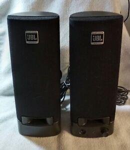 JBL Platinum Series-Computer Speaker Pair ☆☆Wired ☆☆ Tested & Working