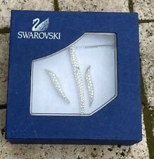 Swarovski Silver Plated necklace & earrings - has stones that have discoloured