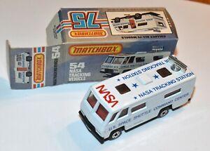 MATCHBOX Nr. 54 »Nasa Tracking Vehicle« 1980 in OVP, unbespielt