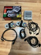 SNES Super Nintendo Classic Mini Konsole Entertainment System in OVP 21 Spiele