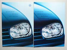 Prospekt Volkswagen VW Golf / Variant IV Sport Edition, 9.2000, 16 S. + Preise
