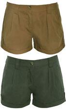 Cotton Hot Pants Mid Rise Shorts for Women