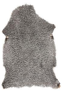 Large Short Haired Genuine Supreme Quality Sheepskin Rug Hide Pelt Gotland