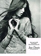 PUBLICITE ADVERTISING 044  1971   JEAN DESSES  sweaters parfums