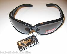 Hercules UNBREAKABLE INDESTRUCTIBLE SUNGLASSES Safety Tinted Smoke Drive Glasses