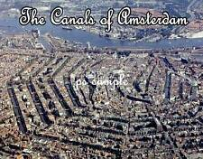 THE CANALS OF AMSTERDAM - Fridge Magnet