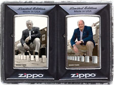Zippo George G. Blaisdell & George B. Duke 2 Lighter set A SERIES IN TIME 28546