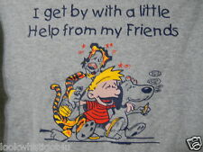 Bucknell University T-shirt Size Small Snoopy Linus Tigger I Get By W A Little H