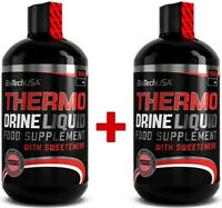 Biotech USA Thermo Drine Liquid 2x500ml Grapefruit Fatburner Diät Abnehmen+BONUS