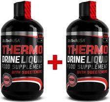 24 Eur/1l Biotech USA thermique drine liquide Carnitine Inositol Chrome Taurine