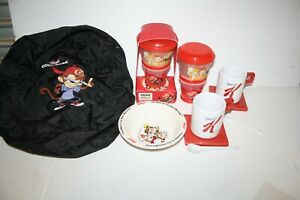Kelloggs Bulk Lot of collectables Cups bowl Bag all good condition