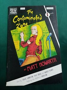 Contaminated Zone, The #1 FN; Brave New Words SEE MY OTHER PENNY AUCTIONS