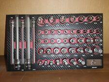"""Matco Tools 46 Piece Adv Master Bit Socket Set ¼"""" ⅜"""" ½"""" Drive Sbs46V"""