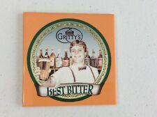 Beer Coaster ~ Gritty McDuff's Best Bitter ~ Portland, MAINE Brewery