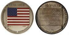 LAMIERINO STAMPATO SHEET METAL BICENTENNAL AMERICAN REVOLUTION 1776 1976 #MD1962