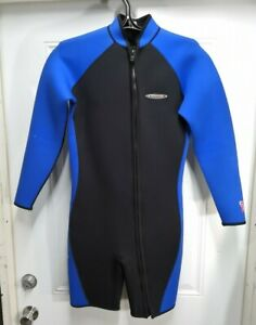 Henderson Mens 3mm Farmer John Top Shorty Size Medium MD M Scuba Dive WetSuit
