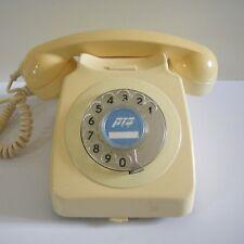 Vintage '85 Rotary Telephone by Bezeq Israel Home Desk Phone