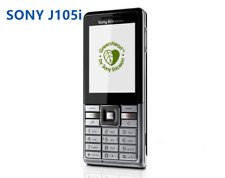 Sony Ericsson j105i 3G keyboard 2MP Camera Bluetooth FM CellPhone