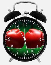 "Boxing Sport Alarm Desk Clock 3.75"" Home or Office Decor E32 Nice For Gift"