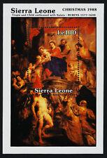 Sierra Leone 1022 MNH Christmas, Art, Virgin & Child