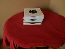 "Lot of 50 60's Rock & Roll  jukebox 45 RPM  7"" records with sleeves songs listed"