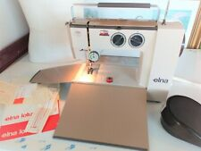 Swiss Elna TSP Lotus Compact Portable Electric precision Sewing Machine VGC