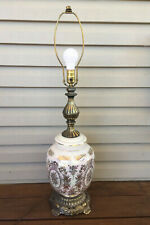 Vintage EF Industries Pearescent Iridescent 3 Way Lamp Nightlight 1970s