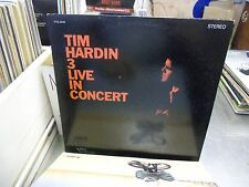 Tim Hardin 3 Live In Concert vinyl Gatefold LP 1968 Verve Forecast Records EX