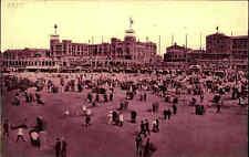 Scheveningen Holland ~1905 Briefkaart Niederlande Region Den Haag Strand Partie