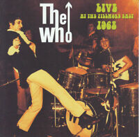 """THE WHO : """"Live at the fillmore east 1968"""" (RARE CD)"""