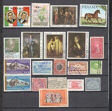 R9996 - PANAMA - LOTTO 20 TEMATICI USATI DIFFERENTI - QUELLI DELLA FOTO