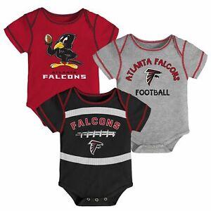NWOT Atlanta Falcons Boys Infant Bodysuit Onesie Baby Creeper Romper Gerber