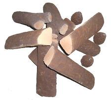 11 teiliges Keramikholz Set für Gelkamine Ethanol NEU Ethanilkamine Holzscheite