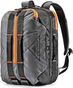 $299 High Sierra Dells Canyon Travel Backpack Mercury/Black/Electric Orange