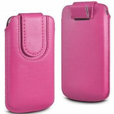 Synthetic Leather Pouches/Sleeves for Samsung Galaxy S5