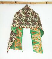 Cotton Kantha Scarf Wrap Stole Dupatta headband Collar Neckerchief Scarves SM43
