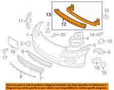 PORSCHE OEM Panamera Front Bumper-Impact Reinforcement Bar Rebar 97050504105