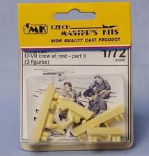 CMK CZECH MASTER'S KITS F72127 - U-VII CREW AT REST PART II 1/72 RESIN KIT