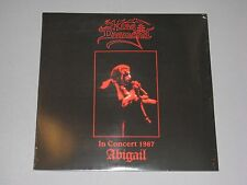 KING DIAMOND In Concert 1987 Abigail LP New Sealed Vinyl