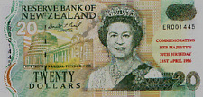 1996  QUEEN'S 70th BIRTHDAY $20 DOLLARS, SCARCE!! PRINTED 2497!!!!!