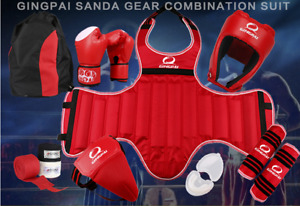 Kicking Boxing Taekwondo Protective Gear Set for Adults and Kids