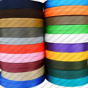 19 25 30 40 50mm Polypropylene Webbing Strapping Bags Boat Weave Nylon Tape