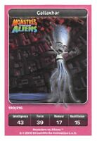 Karte Carrefour Dreamworks - Monstres gegen Aliens - Gallaxhar Nr.190