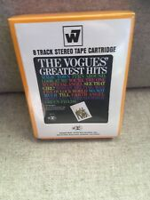 The Vogues Greatest Hits 8 Track Tape Cartridge New Sealed Rare