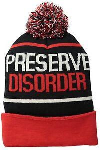 Men's Volcom Stoned Preserve Disorder Beanie Cap Winter Hat
