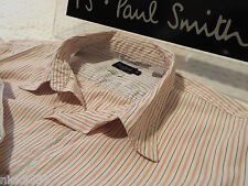 """PAUL SMITH Mens Shirt 🌍 Size M (CHEST 40"""") 🌎 RRP £95+🌏 SUPERBLY STRIPED"""