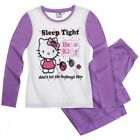 SANRIO pyjama HELLO KITTY 6 8 ou 10 ans violet blanc NEUF