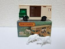 Matchbox - #40 Horse Box