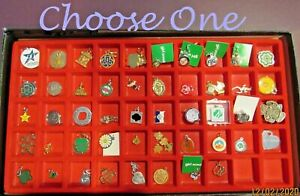 Girl Scout CHARMS, Anniversary, Logo, Brownie, Sterling, Gold-tone CHOOSE ONE